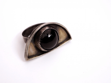 Dark Gaze - Onyx Ring