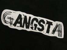 gANGSTer- extra large Vinyl Sticker