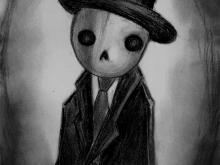 Dead Gentleman - Art Print