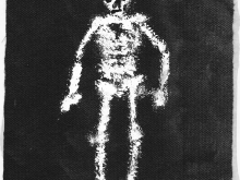 Disintegrating Skeleton - Art Print