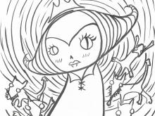 Warlock Princess - Art Print